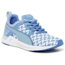 blue patterned shoes puma pulse xt clash sneaker 40 liked on polyvore featuring