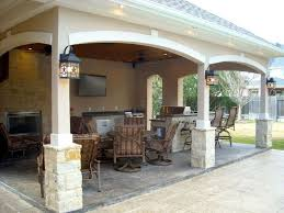 Outdoor Kitchen Covered Patio Best 25 Covered Outdoor Kitchens Ideas On Pinterest Outdoor