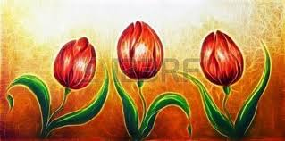 oil paintings of tulips stock photos u0026 pictures royalty free oil