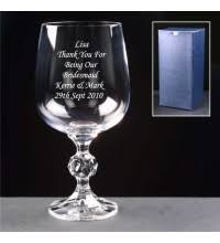 Wine Glass Gifts Engraved Glass Gifts