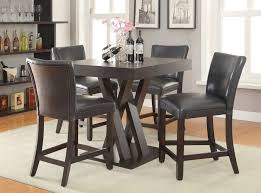 Tall Dining Room Sets by Crisscross Counter Height Dining Room Set Casual Dining Sets