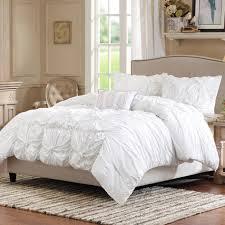Purple Ruffle Comforter Bedroom Ruffled Comforter Sets Ruffle Quilt Set Ruffle Comforter
