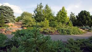 Chicago Botanic Garden Map by Chicago Botanic Garden Dwarf Conifer Garden