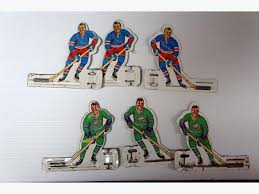 Table Top Hockey Game Vintage 1960 1969 Tin Hockey Players For Table Top Hockey Game