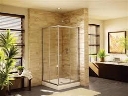 neo angle shower door for walk in showers neo angle shower door