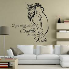 horse decor wall sticker ideal gift for horse lovers u2013 my soul