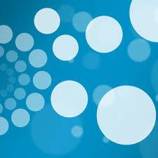 background minimal blue white abstract circles ipad wallpaper
