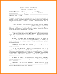 Written Notice Of Lease Termination by 12 Booth Rental Agreement Template Accept Rejection