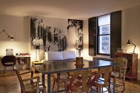 wall graffiti on dining room design interperform com