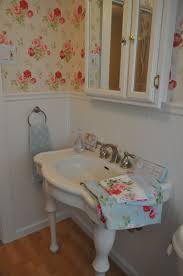 my cath kidstoned up guest bathroom had to make old retro