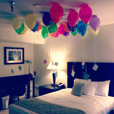 birthday balloons for him simple birthday decoration ideas at home for boyfriend get the
