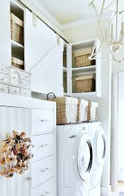 spring laundry room makeover with birch lane thistlewood farm