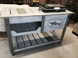 coffee table with cooler custom builds
