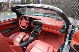 Porsche Boxster 1998 - fs 1997 porsche boxster 5 speed w only 37k miles silver red