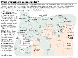 Medford Oregon Map by Pot Won U0027t Be For Sale In Many Oregon Cities Oregonlive Com