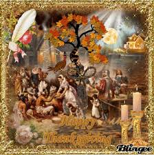 Indian Thanksgiving Pilgrims And Indians Thanksgiving Picture 126707505 Blingee Com
