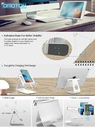 design tablet omoton tablet stand adjustable multi angle aluminum