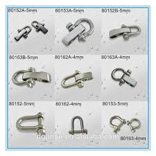 stainless steel bracelet clasps images Paracord stainless steel shackle adjustable shackle survival jpg