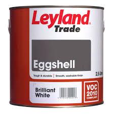 leyland trade interior brilliant white eggshell wood u0026 metal paint