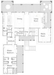 His And Her Bathroom Floor Plans by Carolina Kite U2014 Flatfish Island Designs U2014 Coastal Home Plans