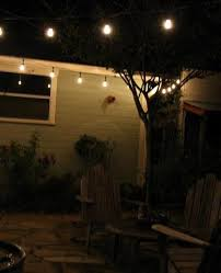 Light For Patio String Up Lights For Garden And Ambience Digging