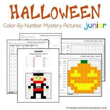 100 halloween color number 2 halloween color letter