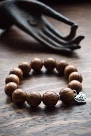 lucky beads bracelet images Men 39 s wood bracelet protective mala beads gift for husband jpg