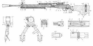 degtyaryov machine gun blueprint download free blueprint for 3d