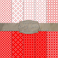 Mixed Patterns by Red U0026 White Mixed Pattern Paper Pack