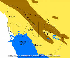 Map Of Babylon The History Of Elam Cais