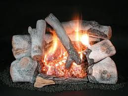 the c8 birch chillbuster is a 30 log set for a vent free fireplace
