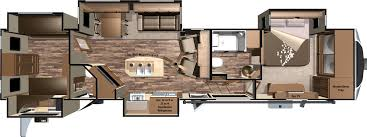 open range 3x fifth wheels by highland ridge rv camper floor plans