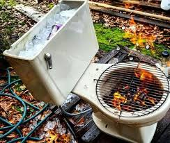 Firepit Grills 10 Creative Recycling Diy Grill Bbq And Pit Projects 1001