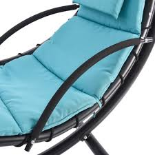 Hanging Chaise Lounge Chair Hanging Chaise Lounger Chair Arc Stand Air Porch Swing Hammock