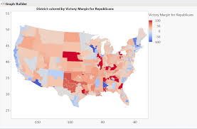 Ohio Congressional District Map by Are There Any Competitive Congressional Districts Left We Explore