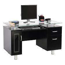 Office Max Furniture Desks Realspace Sutton Executive Desk Black By Office Depot Officemax