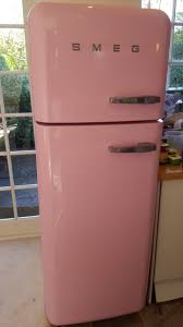 used pink smeg fridge freezer excellent condition in n2 london for