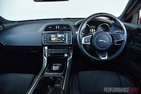 jaguar jeep inside 2016 jaguar xe s review video performancedrive