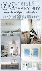Rustic Nursery Decor 25 Soft And Rustic Baby Boy Nursery Ideas