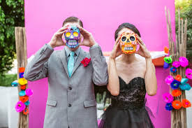 day of the dead wedding savvy deets bridal styled shoot vibrant day of the dead wedding