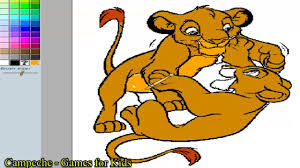 lion king online coloring pages simba and nala 52 youtube