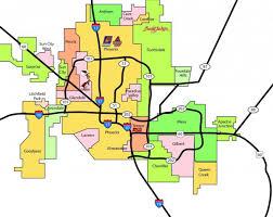 Metro Atlanta Map Phoenix Map Maps Phoenix Arizona Usa