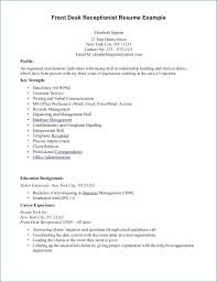 resume template for receptionist sle receptionist resume artemushka