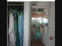 Camper Trailer Interior Ideas Tiny Summer House Vintage Travel Trailer Decorating Small Space