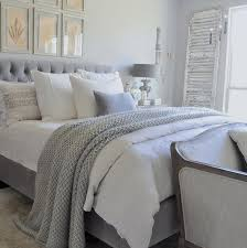 Linen Covers Gray Print Pillows White Walls Grey Home Tour Blanket Bedrooms And Gray