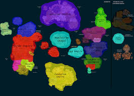 World Of Warcraft Map Political Map Of Wow By Generalhelghast On Deviantart