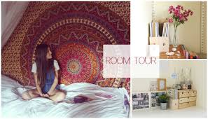 Tapestry On Bedroom Wall Room Tour Ikea Urban Outfitters More Youtube