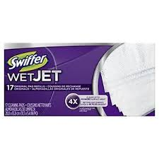 Swiffer Hardwood Floors Swiffer Wetjet Hardwood Floor Spray Mop Pad Refill Original 17