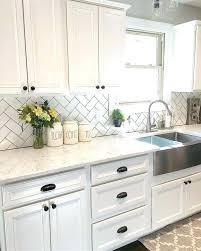 kitchen ceramic tile backsplash white tile backsplash white kitchen black subway tiles white subway