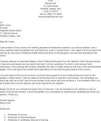 epic sample cover letter for teaching position at university 19